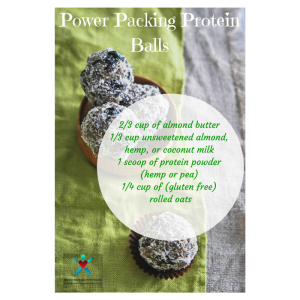 Power Packing Protein Balls Recipe